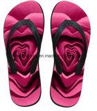 El último diseño de impresión en 3D flip flop Casual Zapatos del deslizador (FF68-12)