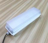 옥외 사용 먼지가 없는 플랜트 점화를 위한 Vandal-Proof 15W 20W IP65 직사각형 세 배 증거 LED 빛