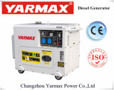 Yarmax 5kVA 5.5kVAの無声ディーゼル発電機セットのディーゼル機関Genset