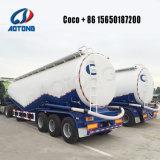 3 EIXOS Navio petroleiro de cimento a granel de alumínio semi reboque