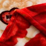 Супер напечатанное нежностью Multicolor приполюсное одеяло ватки