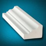 Garniture en PVC blanc imperméable pour décoration maison