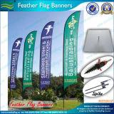 Pubblicità della bandiera di alluminio d'attaccatura di volo del Palo della bandiera