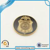 Kundenspezifische Firmenzeichen-Qualitäts-rundes Medaillen-Abzeichen für Andenken