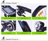 熱い販売のアルミ合金フレームの電気マウンテンバイク