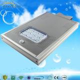 5 ans de garantie Garden 12W Rue lumière LED solaire intégré avec le capteur de mouvement