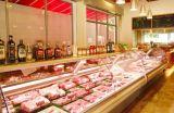 Compteur à affichage de la viande de supermarchés 2.5m Afficher les compteurs