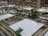 De pvc Gelamineerde Raad van het Plafond van het Gips met Aluminiumfolie Backing219