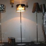 De moderne Bevindende Staand lamp van het Roestvrij staal van het Hotel Decoratieve