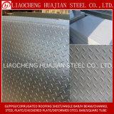 중국 공급자 공장 가격 강철 Checkered Plate/ASTM 강철 검수원 격판덮개