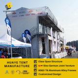 10X20m doppeltes Fußboden-Zelt mit Balkon für Auto-Sammlung (hy030b)