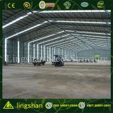Bajo costo de construcción rápida de la estructura de acero de almacén de techo de metal