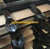 Tramite la rete fissa d'acciaio galvanizzata saldata del germoglio con il rivestimento della polvere nera