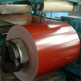 A cor de Dx51d revestiu a bobina de aço galvanizada Prepainted PPGI