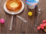 Poids lourd de la coutellerie en plastique Set Couteau cuillère Fourchette, ensembles de pique-nique en plastique