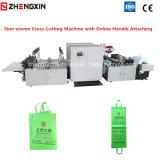 No tejido de alta velocidad de corte transversal y manejar la máquina de sellado Zxq-C1200