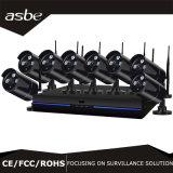 sistema di obbligazione impermeabile dei kit del CCTV NVR di P2p della macchina fotografica di IR di schiera di 8CH 720p WiFi
