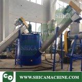 100-200kg/h rondelle de friction et la rondelle de vapeur pour la ligne de recyclage du plastique