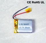 Batterie rechargeable 502025 200mAh Li Polymer (UL, CE)