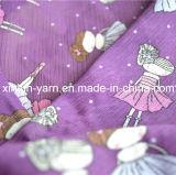 Tejido de gasa plisado favorito de la India para el verano Dress