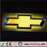 Het vacuüm Acryl LEIDENE Backlit Embleem van de Auto en Hun Namen