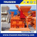 Type jumeau d'arbre machine de construction de mélangeur concret à vendre