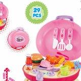 Frühes Ausbildungs-Puzzlespiel-gesetzte Kind-Spiel-Haus-Plastikspielwaren