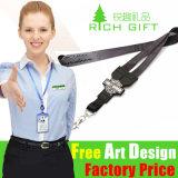 Promocional Custom Wholesale Fabric / Militar / Satin / Soft / Impresso / Poliéster / Neck / Lanyard Medal Ribbon