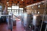 500 litros de cerveza cervecería con vapor de fuego directo calefacción eléctrica
