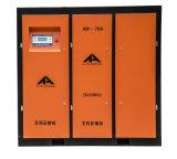 Ruído movido a correia do compressor de ar baixo 75HP do parafuso da alta qualidade de Airhorse