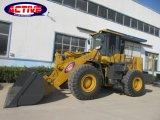 Grande grande caricatore della rotella di AL958E/ZL50 5ton con il motore potente del CAT