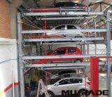 Sistema automatizado da estrutura do estacionamento do carro do equipamento do enigma
