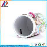 ハンドルが付いている中国の製造者のボール紙のペーパーギフトの管Pacakging