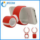 Saída de tipo C duplo carro Telefone Detentor de rotação de 360 graus Universal Car do respiro de ar de borracha do suporte do telefone suporte telefone