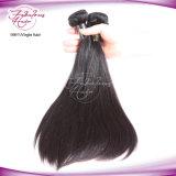 まっすぐな人間の毛髪の拡張ブラジルのバージンの毛の加工されていないRemyの毛
