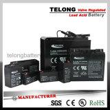 bateria 12V7ah acidificada ao chumbo recarregável para o sistema de segurança