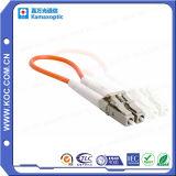 Cordon de connexion compétitif de câble fibre optique du constructeur Sc/Upc de Shenzhen