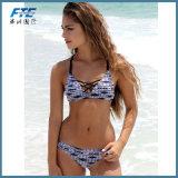 Heiße reizvolle Badeanzug-Frauen-Badebekleidungs-brasilianische Bikini-Schwimmen-Klagen