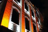 Guangzhou Homei Barra de Lava de parede LED IP65 18 X 3W Building colorida iluminação decorativa
