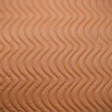 Couro artificial do plutônio do bordado do Weave para a decoração do saco da mobília do sofá