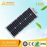 réverbère solaire de la lampe extérieure DEL de 15W IP65