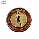 De alta calidad personalizado insignia de Matel creativas para el baloncesto