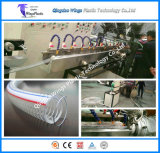 Riga di rinforzo a spirale dell'espulsione del tubo flessibile del filo di acciaio del PVC della macchina di plastica