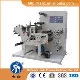 En blanco Etiqueta adhesiva de corte longitudinal / Die Rotary máquina de corte