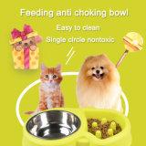 Cão de Estimação Alimentador lento parar de comer muito rápido tigela de selva