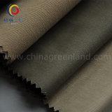 Tessuto elastico twill di cotone con la pelle Peached