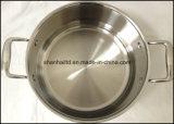 3つの層ボディ誘導の低い鍋のカセロール