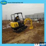 Mini macchina della campagna dell'escavatore del cingolo dell'azienda agricola di alta qualità