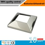 Edelstahl-Unterseiten-Deckel-Flansch für Handlauf-Balustrade-Pfosten