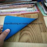 vinyle industriel de PVC de film publicitaire de 1.2mm parquetant 0.5mm